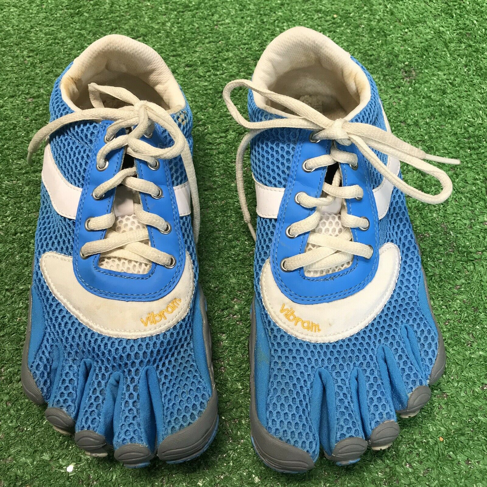Vibram Fivefingers SPEED bluee Barefoot Technology Running shoes Women's 40   8.5