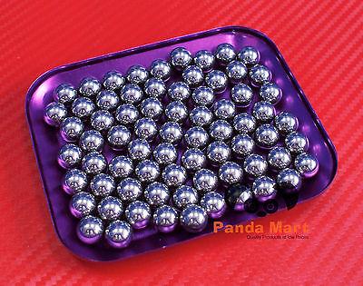 "100 PCS 3//8/"" inch 9.525mm G10 Hardened Chrome Steel Loose Bearing Balls"