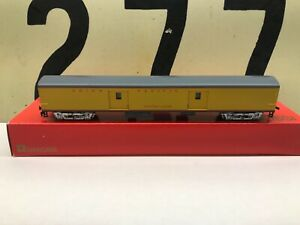 Rivarossi-Ho-Scale-UP-Union-Pacific-Baggage-Western-Lodge-6718-RTR-NOS