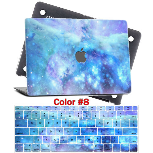 """Matte Marble Design Cool Hard Case Shell Keyboard Cover For Macbook New Air 13/"""""""