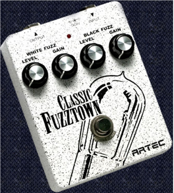 Artec FZT1 Fuzztown classic twin fuzz pedal.