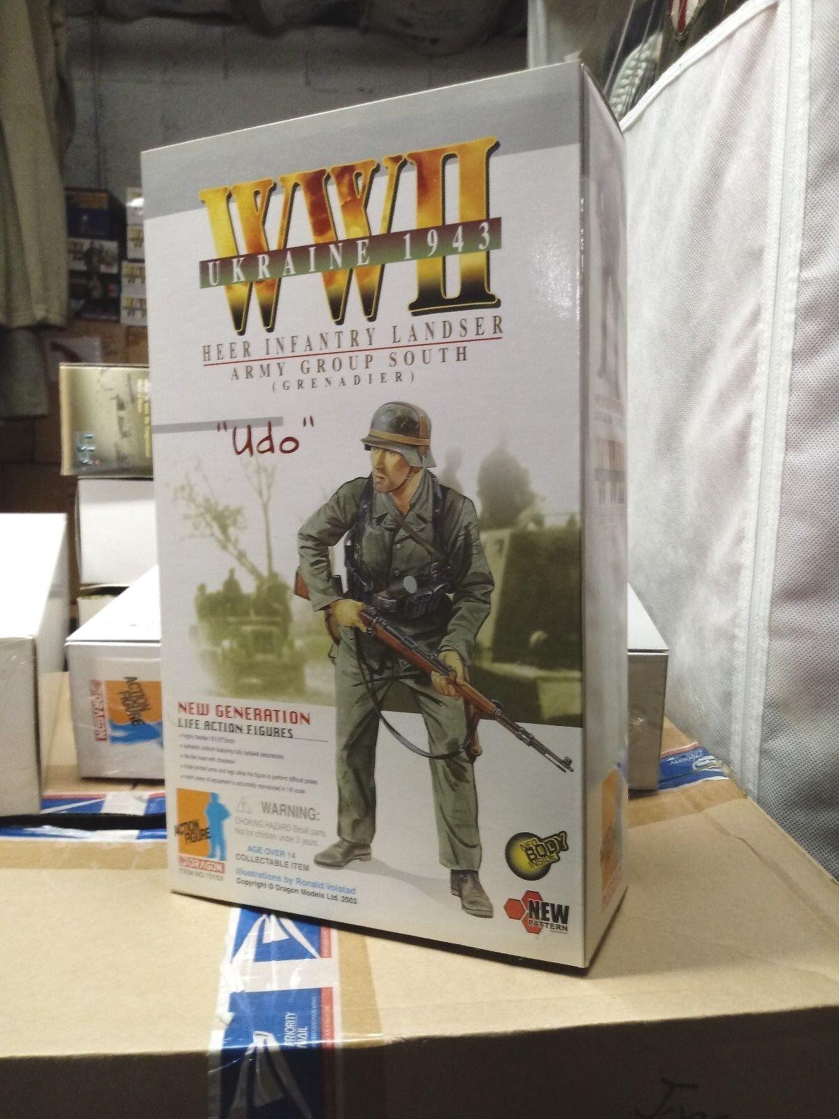 WW2  German Army Soldier Ukraine 1943 1/6 Udo