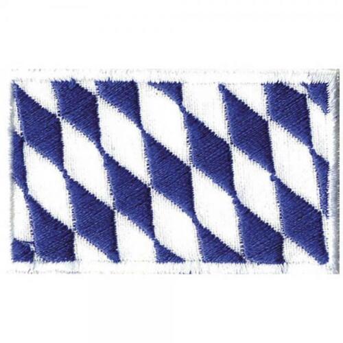5,5x3 5cm Patch-Baviera-bandera-talla aprox Stick parches de aplicación. 00842