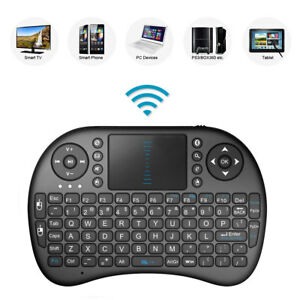 2.4GHz Mini Mobile Wireless Keyboard with Touchpad Remote Control with Rechargable Li-ion Battery for Samsung 32M5520 32 Smart TV