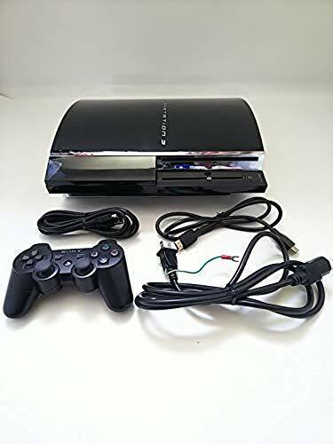 SONY PlayStation 3 BLACK 60gb Console PS3 Collector Item 2006 Japan USED