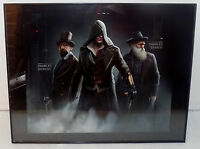 Assassin's Creed Darwin & Dickens 11''x 14'' Advertising Urban Art Poster