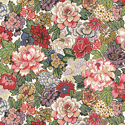 Liberty ~ Betsy R Teal Green Tana Lawn Fabric quilting dressmaking floral