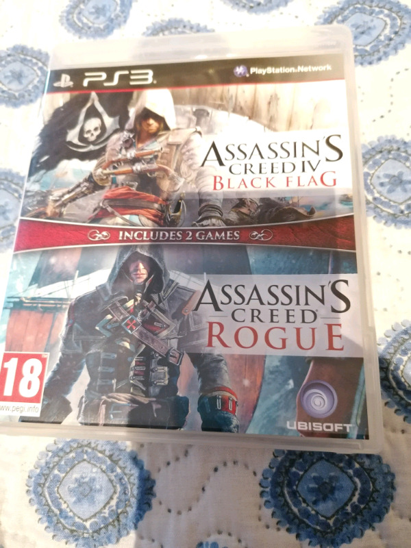 Assassins Creed 4 and Rouge ps3