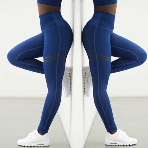 Women High Waist Yoga Pants Leggings Workout Butt Lift Workout Sports Trousers