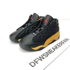 si intende prospettiva circonvallazione  Nike Air Jordan 13 XIII Retro TD Melo Carmelo Size 6c Shoes Black Yellow  for sale online | eBay