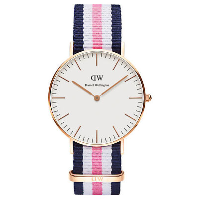 NEW Daniel Wellington Classic Southampton 36mm Rose Gold Watch