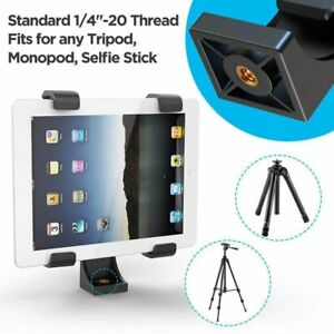 """2 in 1 Tripod Mount Adjustable Stand for 7-10"""" Phone/Ipad Monopod  Holder Clamp"""