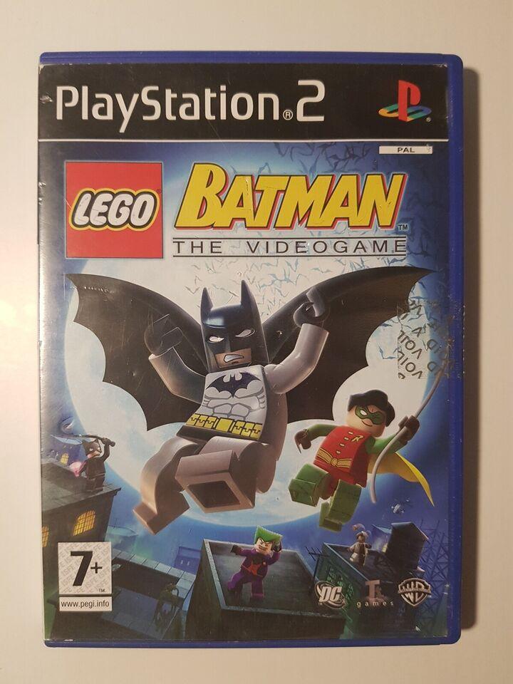 Lego Batman, PS2 - dba.dk - Køb og Salg af Nyt og Brugt