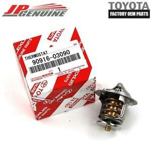 Genuine Toyota Camry Rav4 Celica Engine Coolant Thermostat 90916-03090 OEM