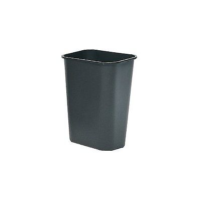 Beige Rubbermaid Commercial FG356988BEIG Rectangular 23-Gallon Untouchable Trash Can