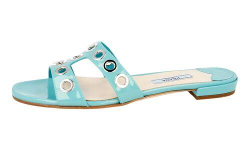 Luxury 37 Sandals Anice Nuovo Shoes 5 Tuerkis Prada 1xx250 36 dCorexBW