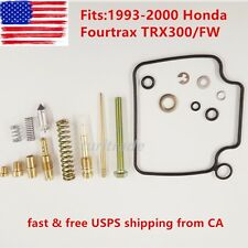 TOP QUALITY 1993 - 2000 Honda Fourtrax TRX300/FW Carburetor Repair Kit Carb Kit