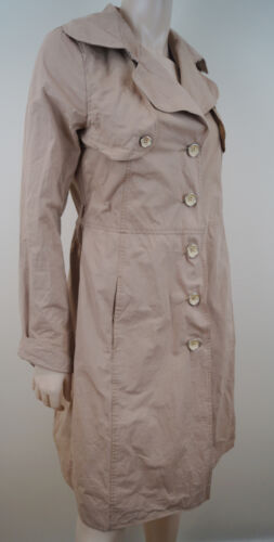 Collezioni Trench Cotton Caramel Beige 100 Coat Armani It40; Uk8 Mac Jacket HUwdZx