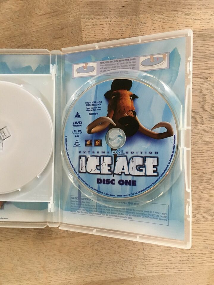 ICE Age, DVD, familiefilm