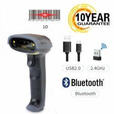 Automatic Bluetooth Wireless Laser Handheld Barcode Scanner Gun Bar Code Reader