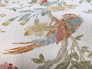 Image Is Loading Lee Jofa Designer Floral Home Decor Fabric 100