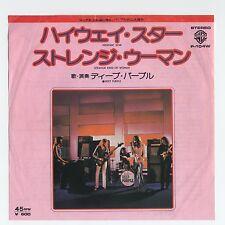 "Deep Purple - Highway Star c/w Strange Kind Of Woman 7"" JAPAN 45"