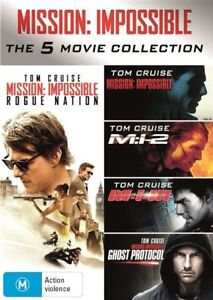 Mission-Impossible-The-5-Movie-Collection-BRAND-NEW-Region-4-DVD