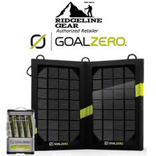 GOAL ZERO Guide 10 Plus Solar Recharging Kit USB/AA/AAA Battery Charger