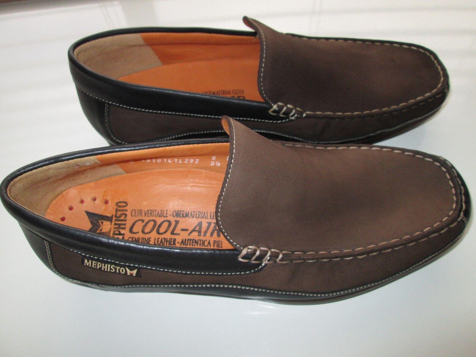 Mephisto 13101414292 Baduard Slip-On Men's Loafer Shoes Brown 9E-9.5M MSRP