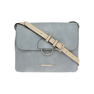 NEW Basque Brooke Flap Over Crossbody Bag Blue
