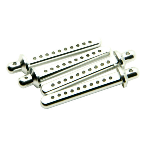4X Aluminum Body Post Mounts For Axial SCX10 90022 90027 1//10 RC Crawler Parts W