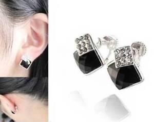 1-Pair-Clip-on-amp-Screw-Back-Fashion-Earrings-CZ-Studs-Beaded-Hoop-Dangles-amp-More