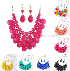 Hot-Selling-New-Fashion-Mixed-Style-Bib-Chunky-Statement-Necklace-Style-U-Pick