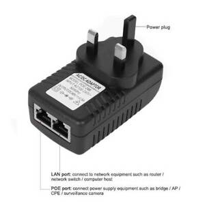 POE-Power-Supply-48V-0-5A-POE-Injector-Adapter-UK-Wall-Plug-Power-Over-Ethernet