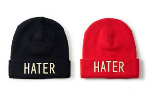 Hater Snapback Beanie CA-CAP Knit Hat Winter Wool Oversize Gold ... 39d6e0ad23cf