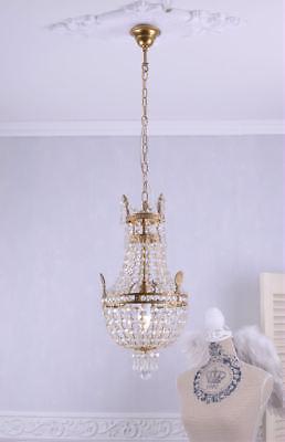 Korblüster Kristallleuchter Deckenleuchte Kronleuchter Lampe Maria Theresia neu