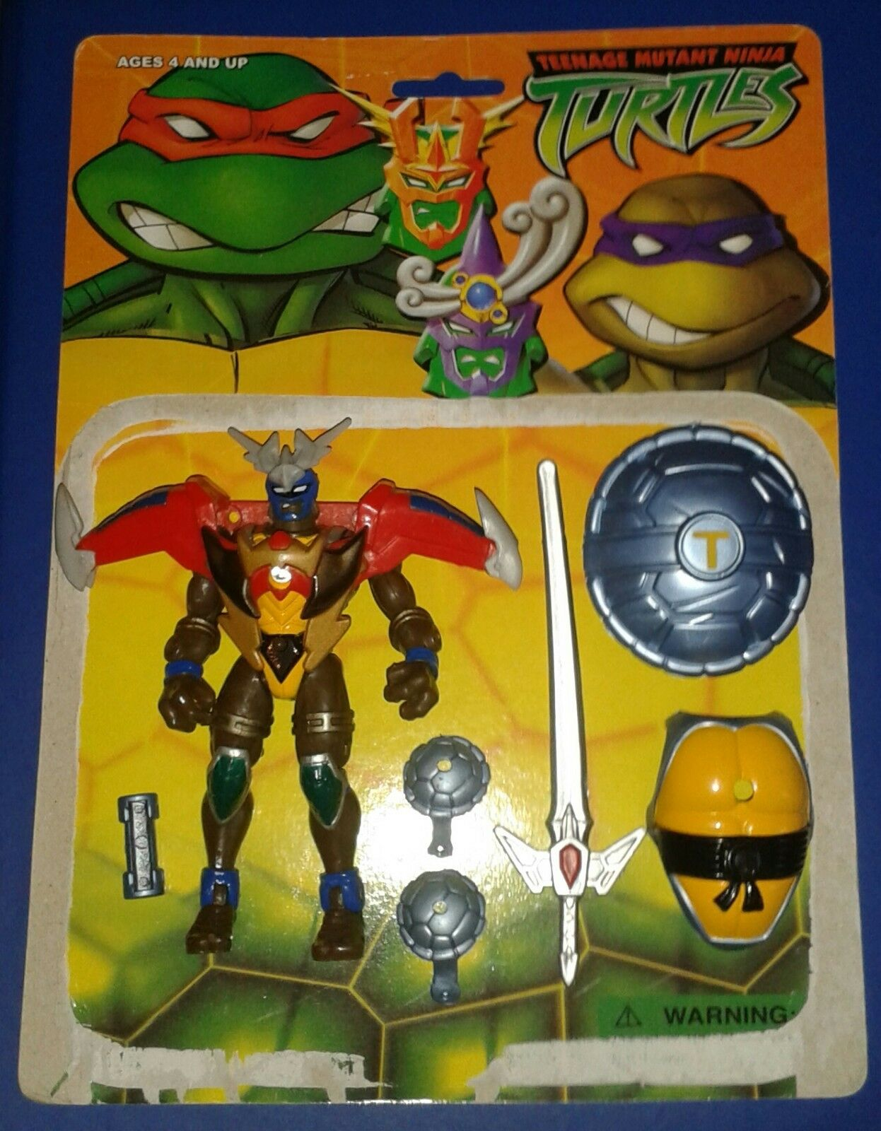 1995  WARRIOR MUTANT DONATELLO COMPLETE  StiefelLEG TEENAGE NINJA TURTLES TMNT