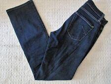 James Jeans Size 27 Hunter Addiction  Dark Blue Straight Leg Dry Aged Denim Nice