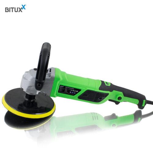 Bituxx Poliermaschine 1200 Watt Autopolierer Poliergerät Autopflege Polierer KFZ