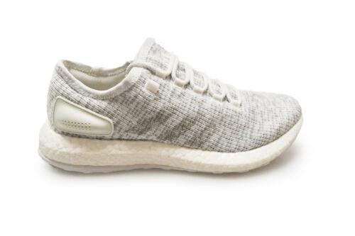 Hommes Pureboost Baskets Blanc Ba8893 Grises Adidas OOwrRqH