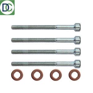 4-x-Mercedes-Vito-Mixto-Diesel-Injector-Bolt-amp-Washer-Seal-Kit-German-Febi-OE