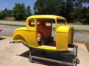 1932 32 ford five window coupe fiberglass body ebay for 1932 ford 5 window fiberglass body