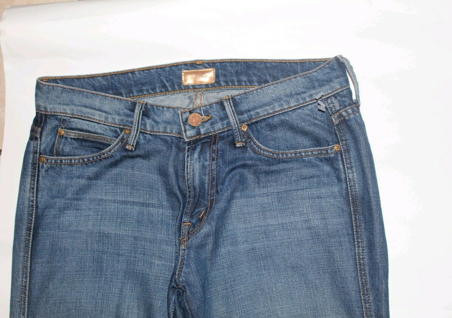MOTHER Jeans Holy Rascal Size 26 Straight Leg EEUC