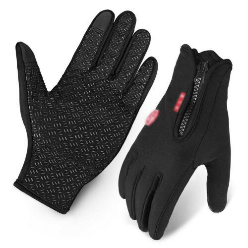 Winter Warm Windproof Waterproof Anti-slip Thermal Touch Screen Bike Ski Gloves