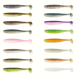 "Keitech easy shiner 2/""-5cm Squid scent,perch,zed,lure,drop shot,texas,jig 3pcs"