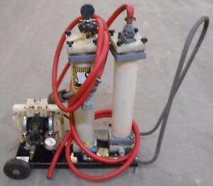 SERFILCO-COALESCING-SYSTEM-S-1387-DOUBLE-DIAPHRAGM-PUMP-PPN-1-2-034-300-GPH