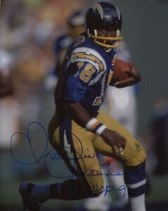 Charlie-Joiner-San-Diego-Chargers-signed-8x10-photo-autograph-auto-not-PSA-JSA