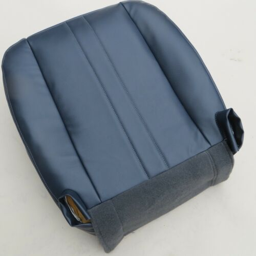 02-14 Chevy Express Cargo VAN V8 GAS Driver Bottom Vinyl seat cover Dark Blue