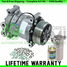 New A/C Compressor and Clutch Kit Fits Chevrolet S10 4.3L V6 1998-2004 SD7H15