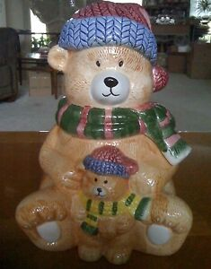 Teddy Bear Cookie / Candy Jar